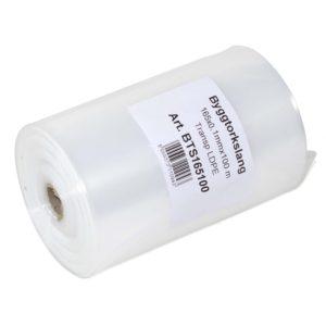 Byggtorkslang LDPE Transparent 165×0,10mmx100m