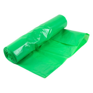 Sopsäck 125L Grön LDPE 40my