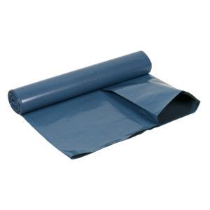 Sopsäck/Grovsäck 160L Blå/svart LDPE 55my