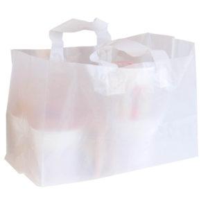 Plantbärkasse Plast Frostad MDPE 55my