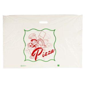 Pizzakasse XXL Vit MDPE 50my