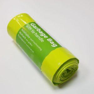 Limegrön knytpåse LDPE 22my