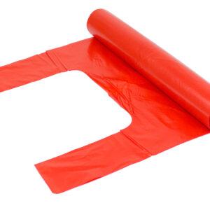 Knytsäck 240L Röd LDPE 55my