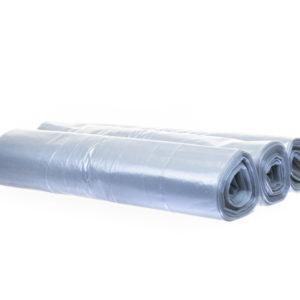 Sopsäck 125L Transparent LDPE 30my