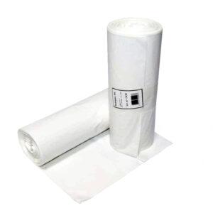 Papperskorgspåse 36L Vit